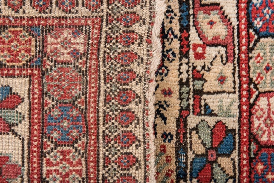 Antique Persian Ingeles Area Rug - 10