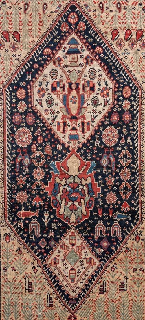 Antique Persian Ingeles Area Rug - 2