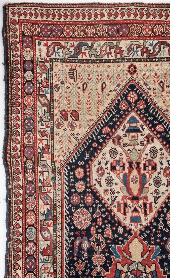 Antique Persian Ingeles Area Rug - 3