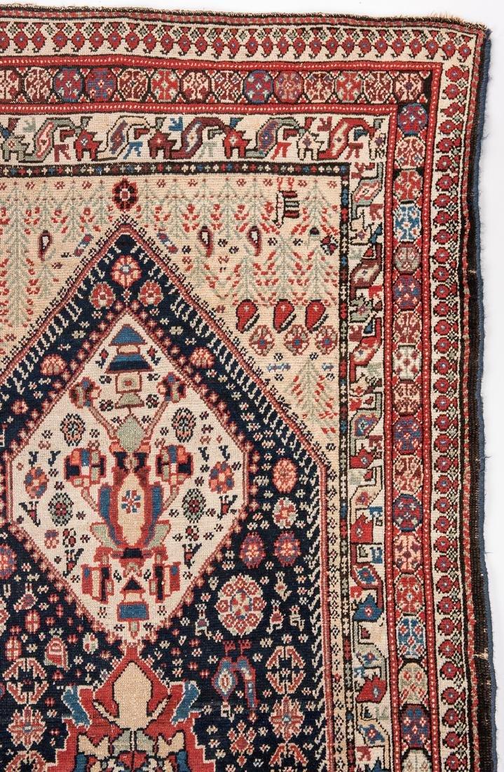 Antique Persian Ingeles Area Rug - 4