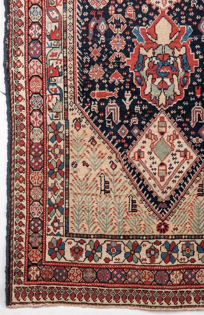 Antique Persian Ingeles Area Rug - 5
