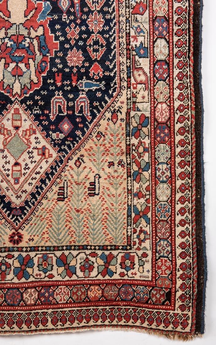 Antique Persian Ingeles Area Rug - 6