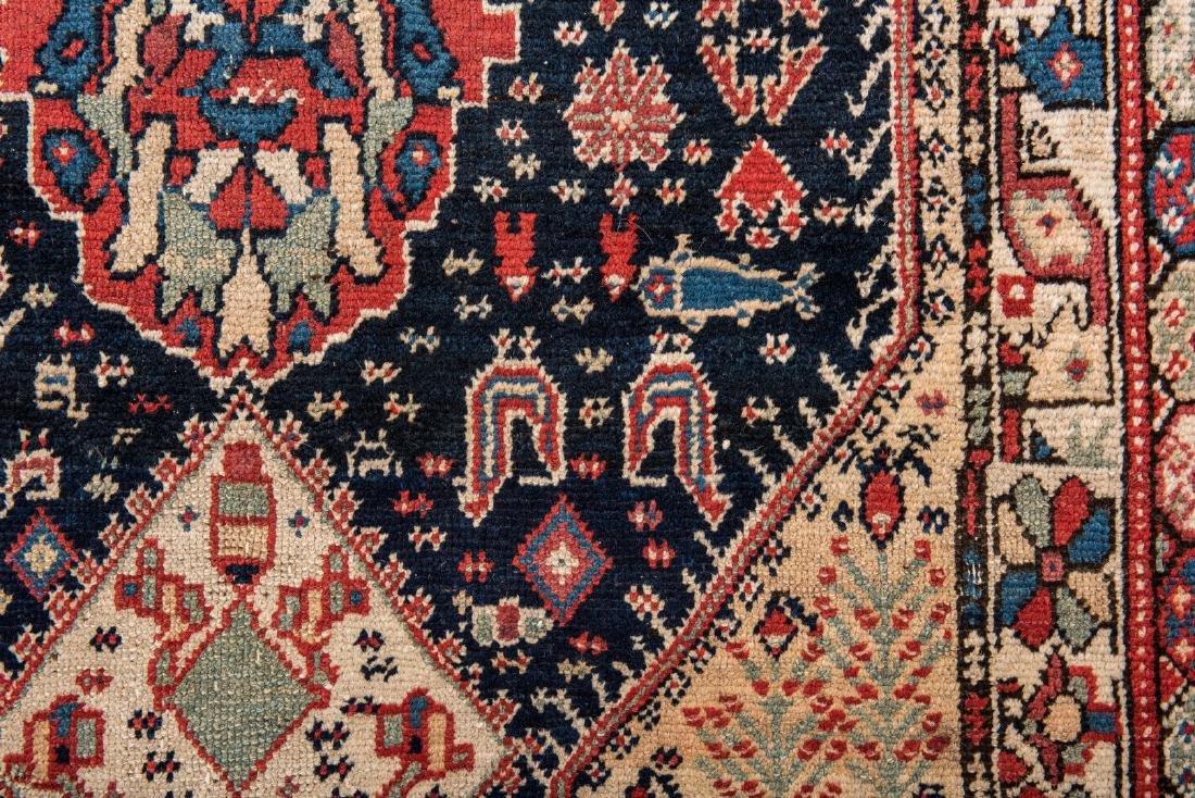 Antique Persian Ingeles Area Rug - 7