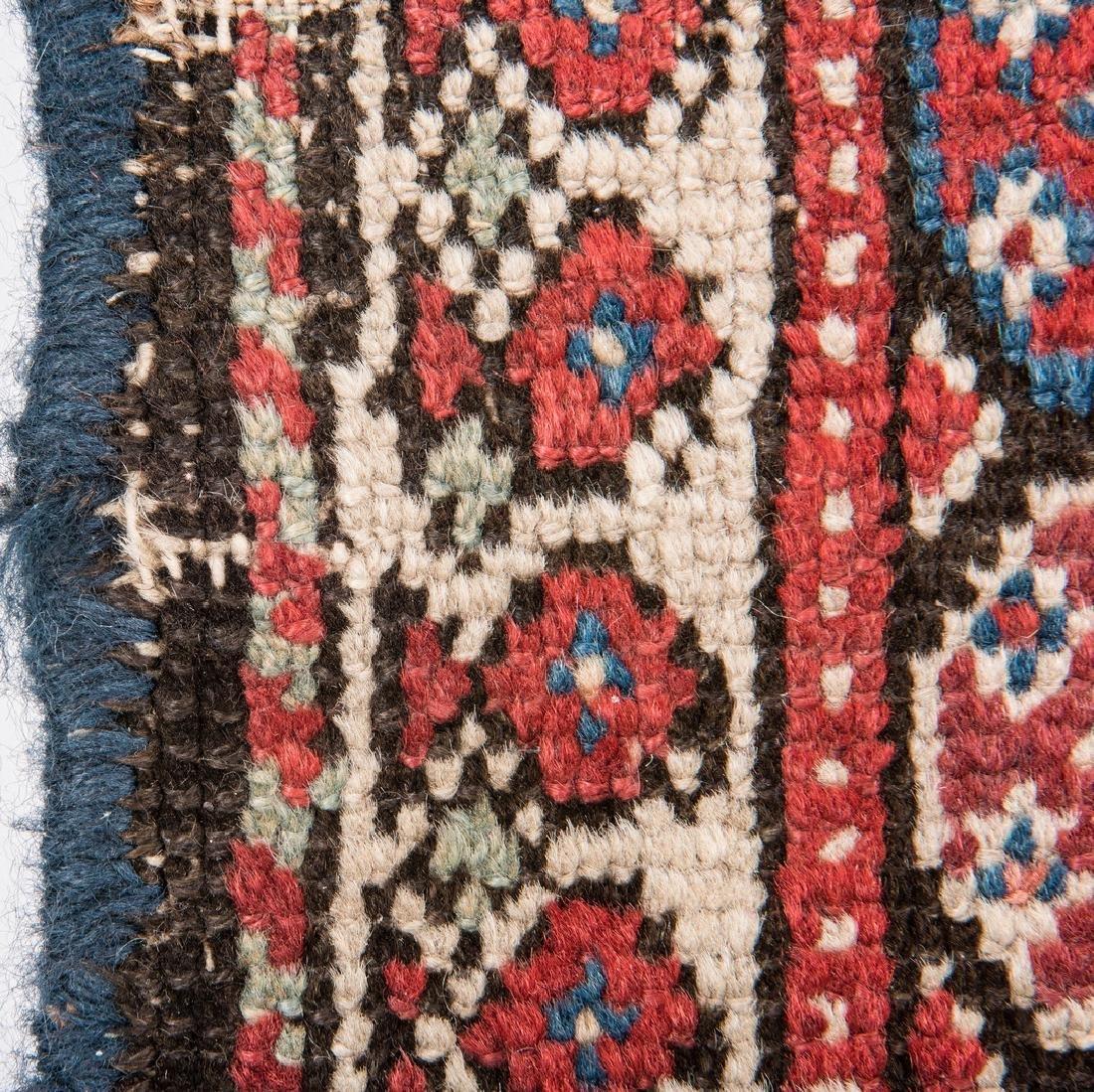 Antique Persian Ingeles Area Rug - 9