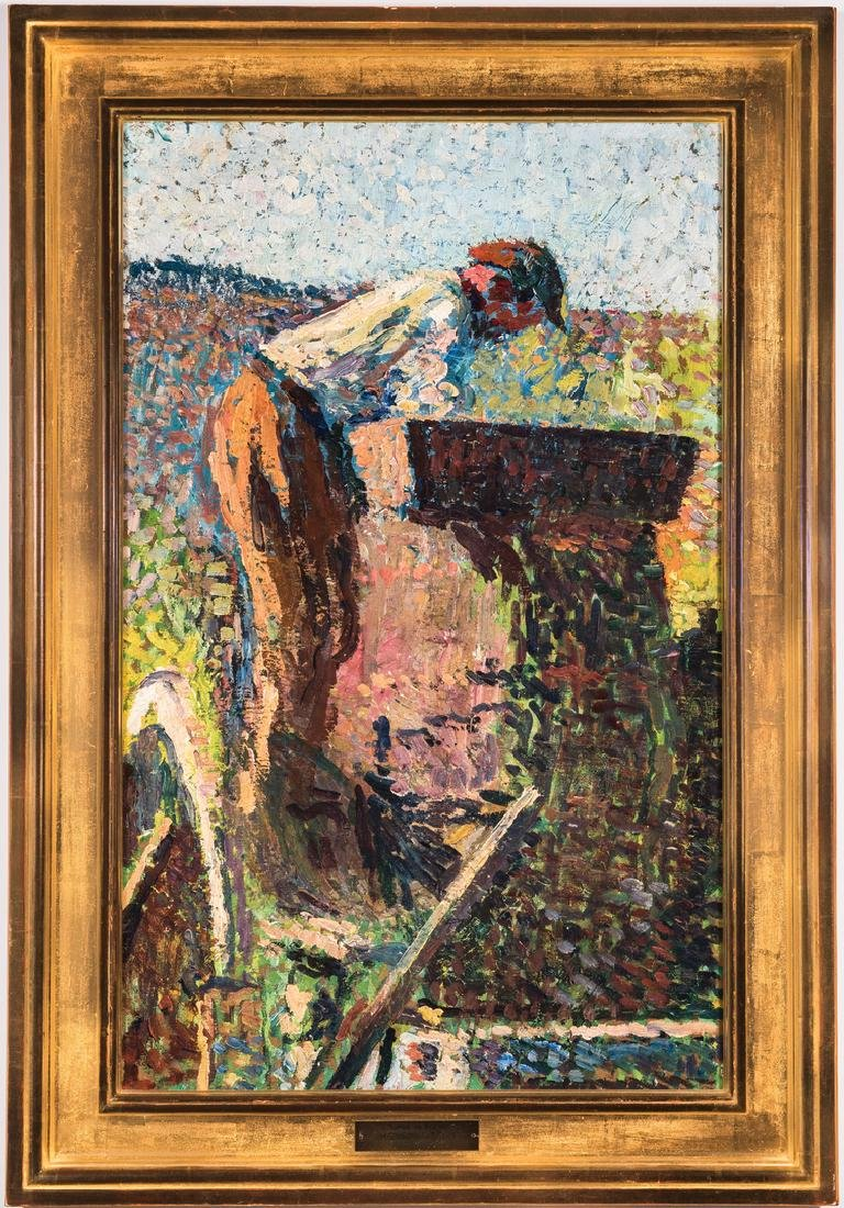 Henri Jean Guillaume Martin Oil, Authenticated