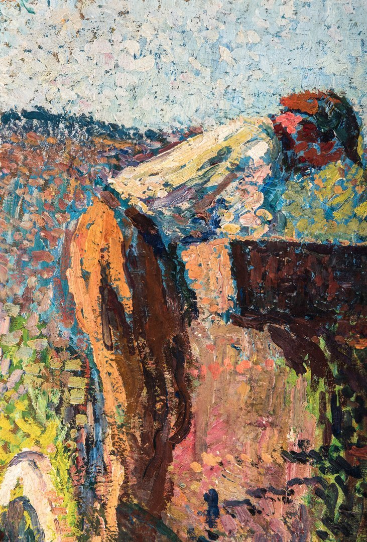 Henri Jean Guillaume Martin Oil, Authenticated - 6