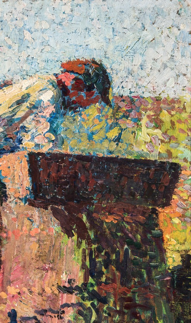 Henri Jean Guillaume Martin Oil, Authenticated - 7