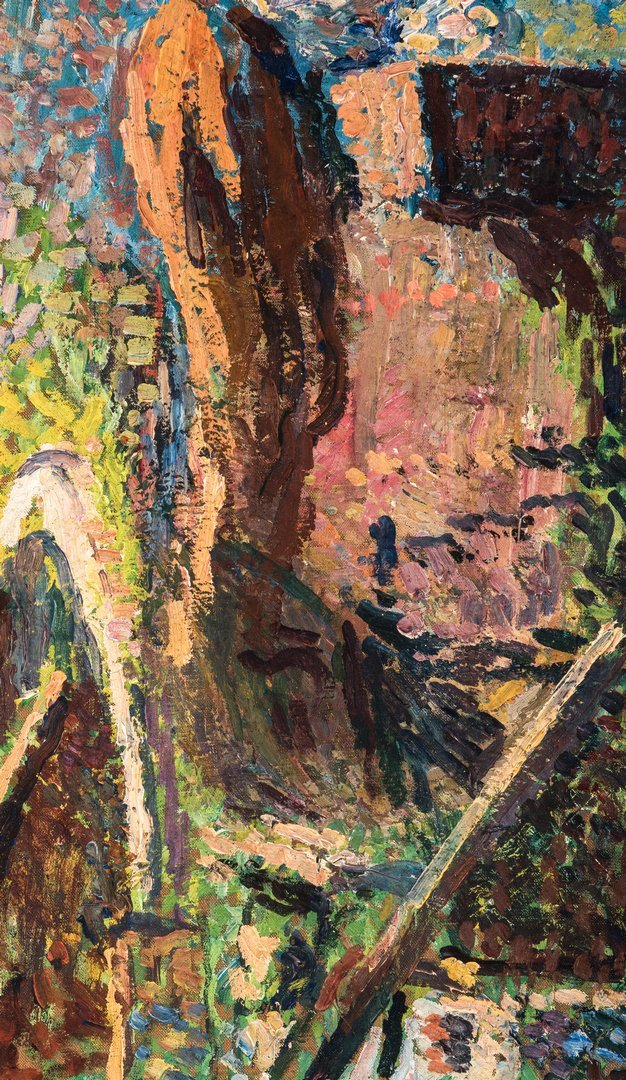 Henri Jean Guillaume Martin Oil, Authenticated - 8