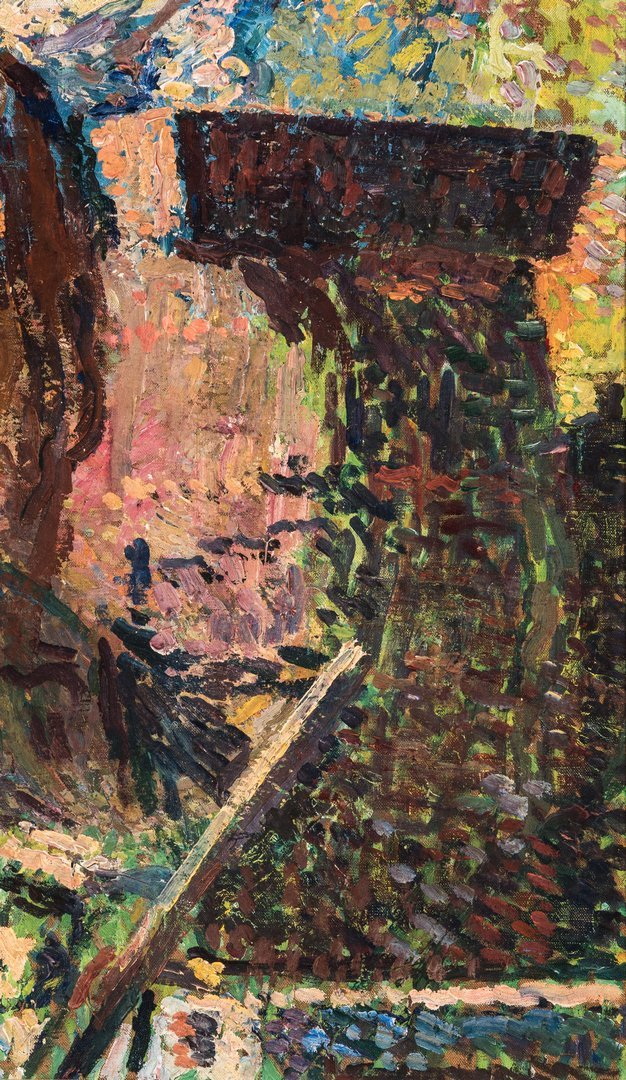 Henri Jean Guillaume Martin Oil, Authenticated - 9