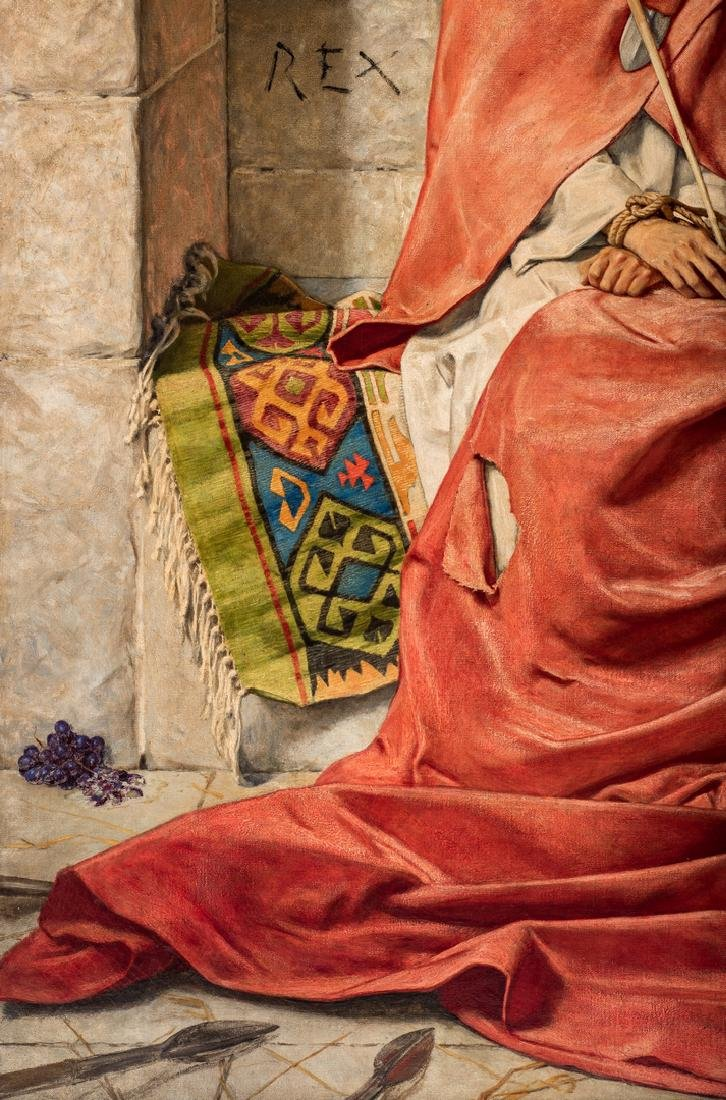 William Shakespeare Burton oil, King of Sorrows - 6