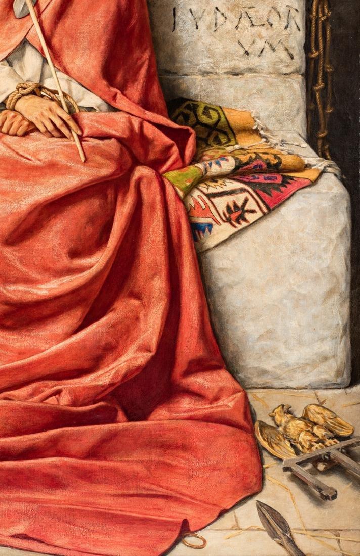 William Shakespeare Burton oil, King of Sorrows - 7