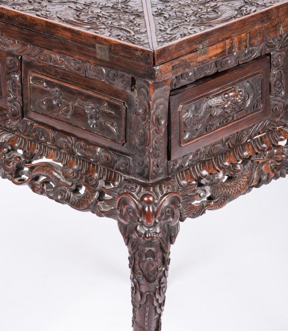 Chinese Hardwood Games Table - 6