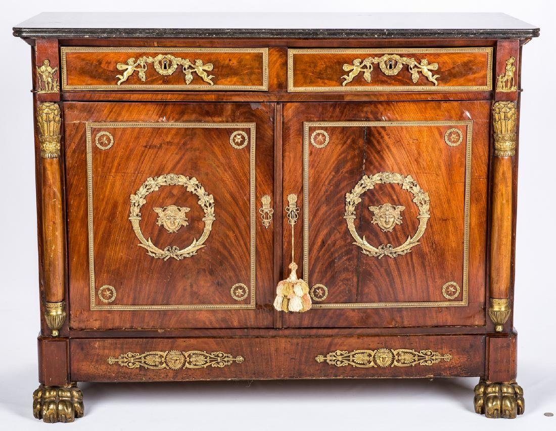 French Ormolu Mounted Sideboard - 3