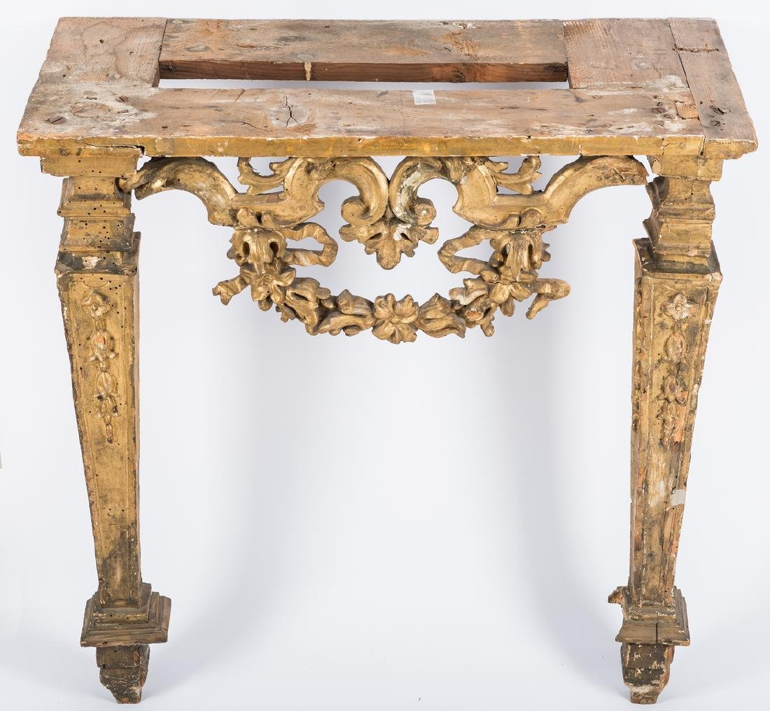 Carved Italian Giltwood Pier Table - 6