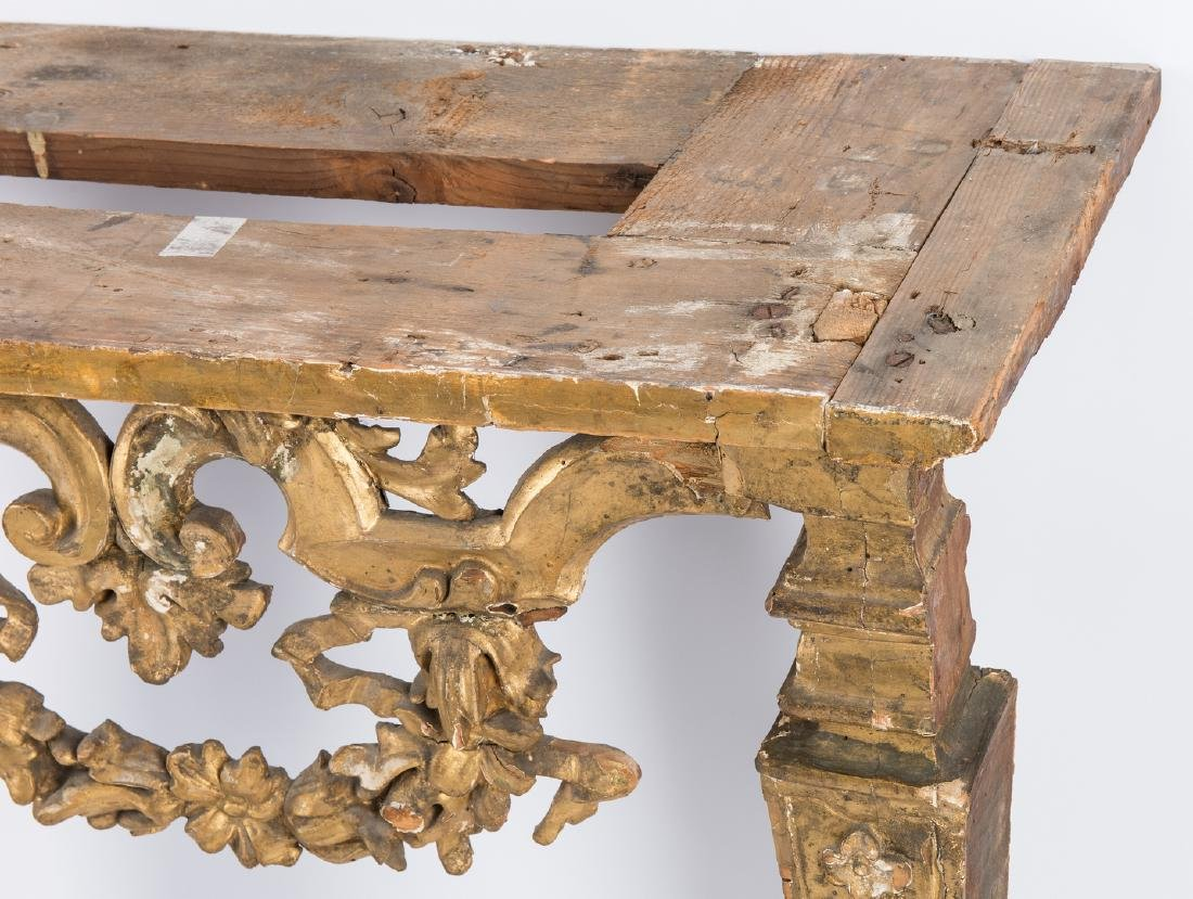 Carved Italian Giltwood Pier Table - 7
