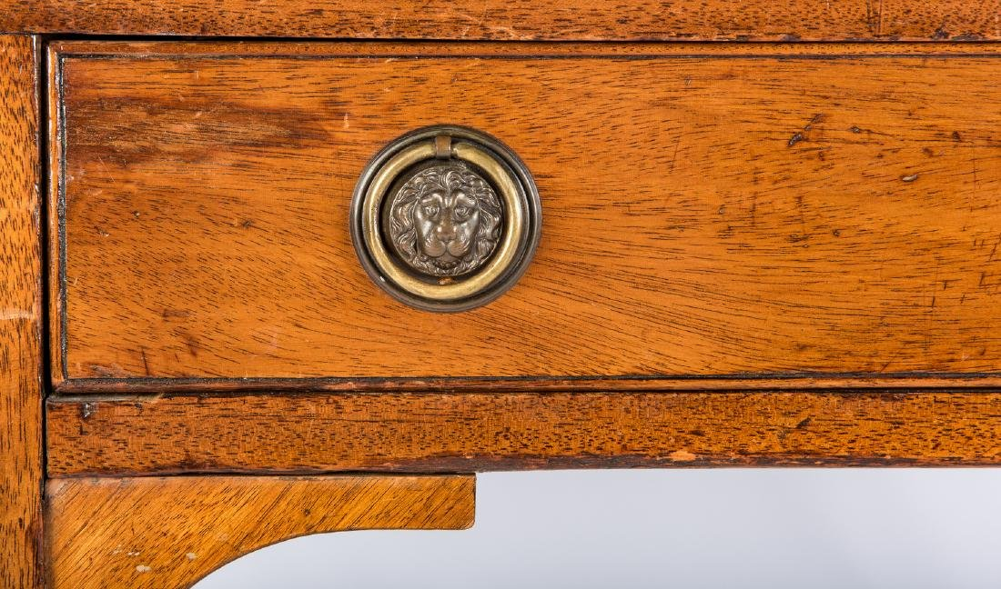 Early Regency Mahogany Writing Table - 10
