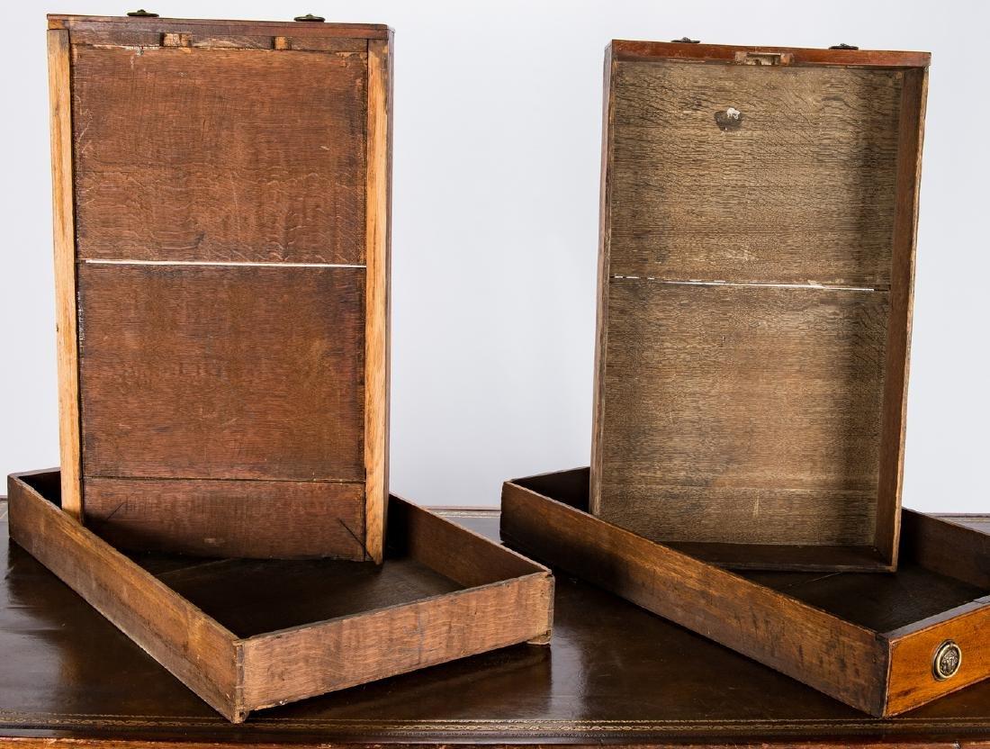 Early Regency Mahogany Writing Table - 13