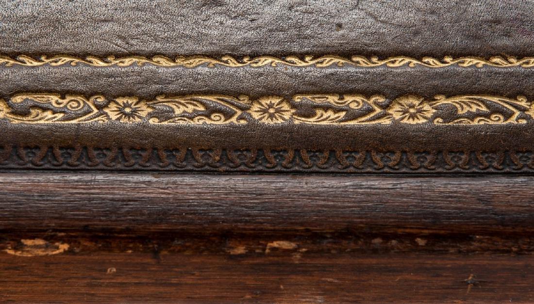 Early Regency Mahogany Writing Table - 19