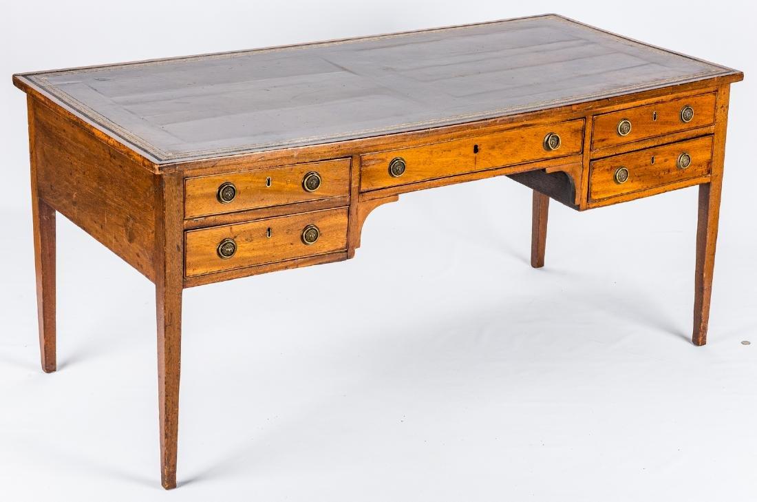 Early Regency Mahogany Writing Table