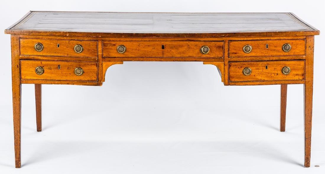 Early Regency Mahogany Writing Table - 3