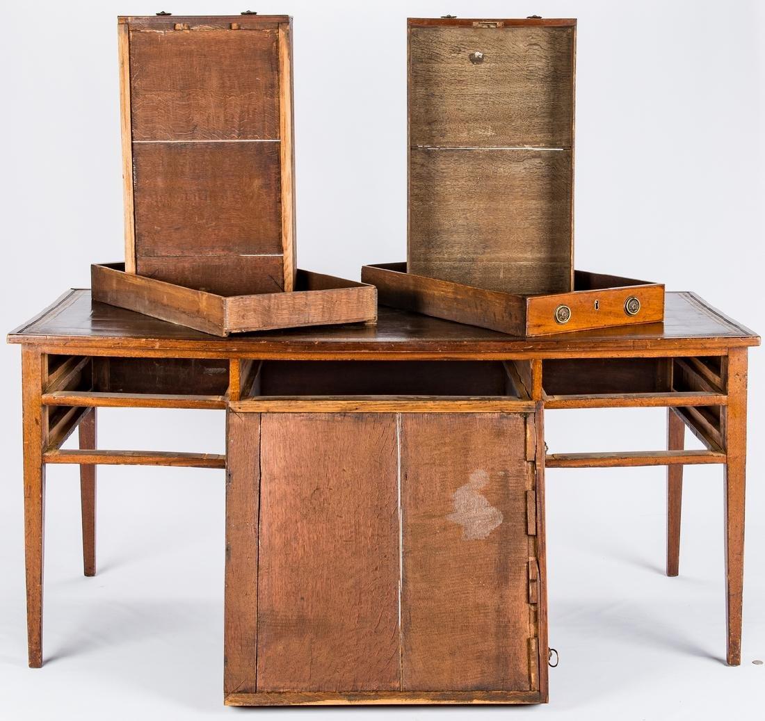Early Regency Mahogany Writing Table - 6