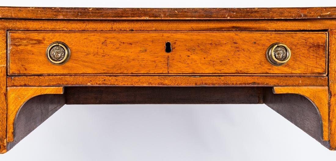 Early Regency Mahogany Writing Table - 9
