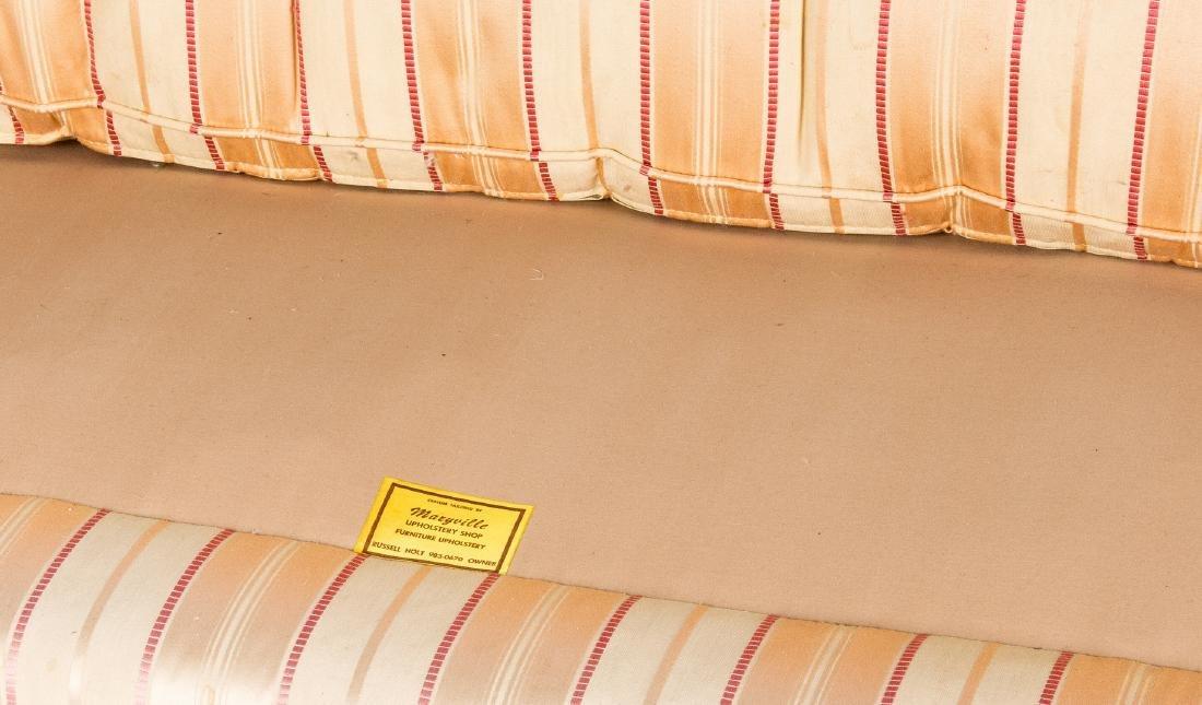 American Federal Carved Mahogany Square-Back Sofa - 18