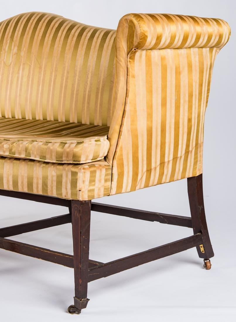 Federal Inlaid Camel Back Sofa - 5