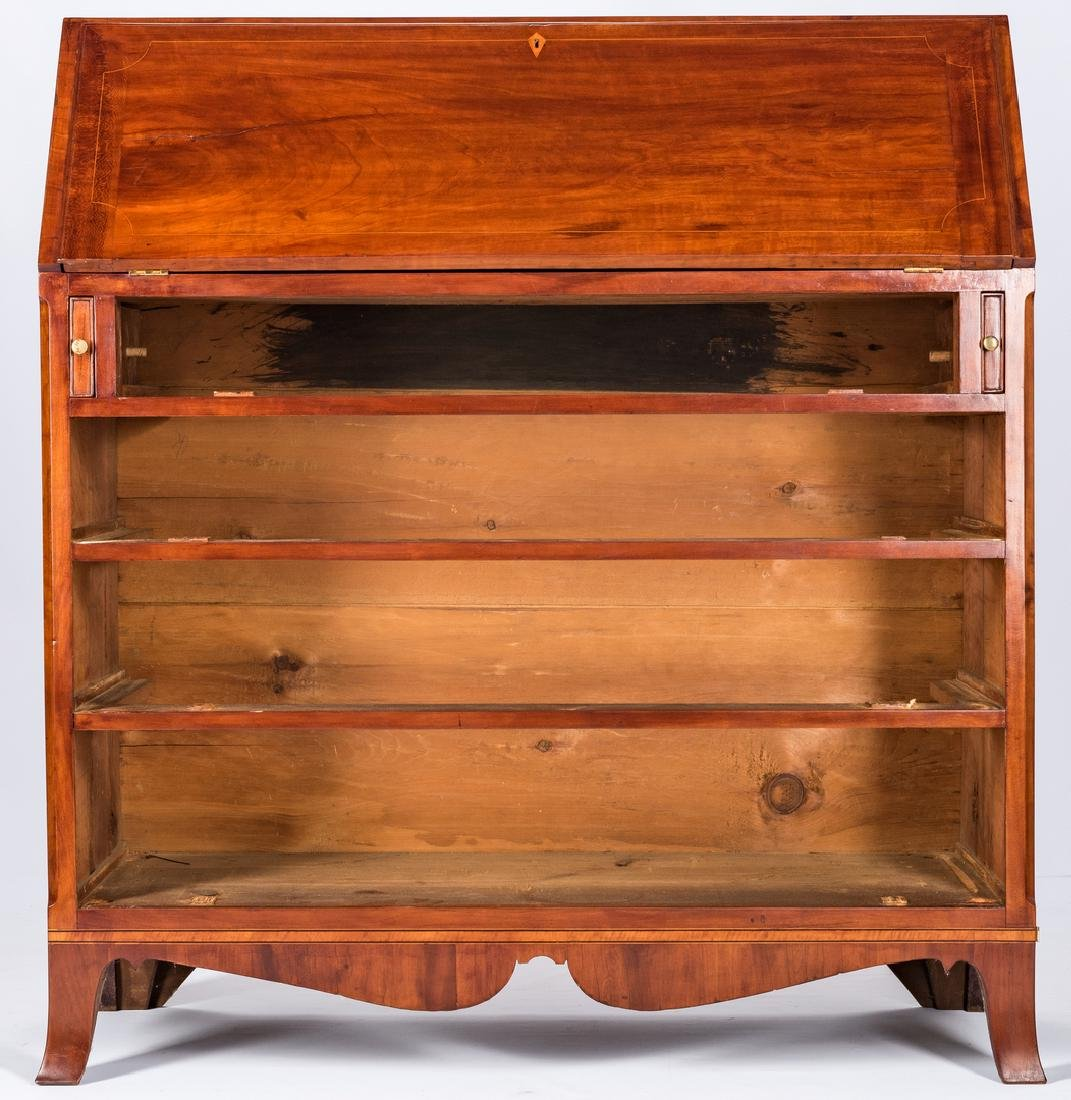 PA Cherry Federal Desk and Bookcase - 9