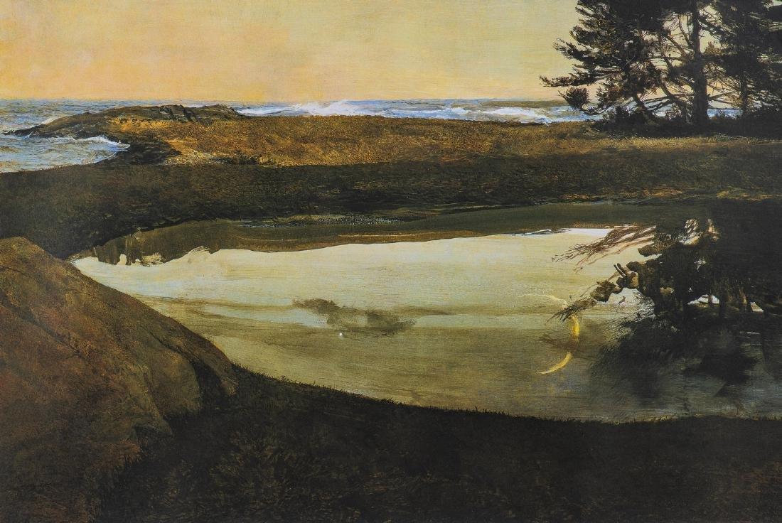 Andrew Wyeth Signed Print, Jupiter - 6