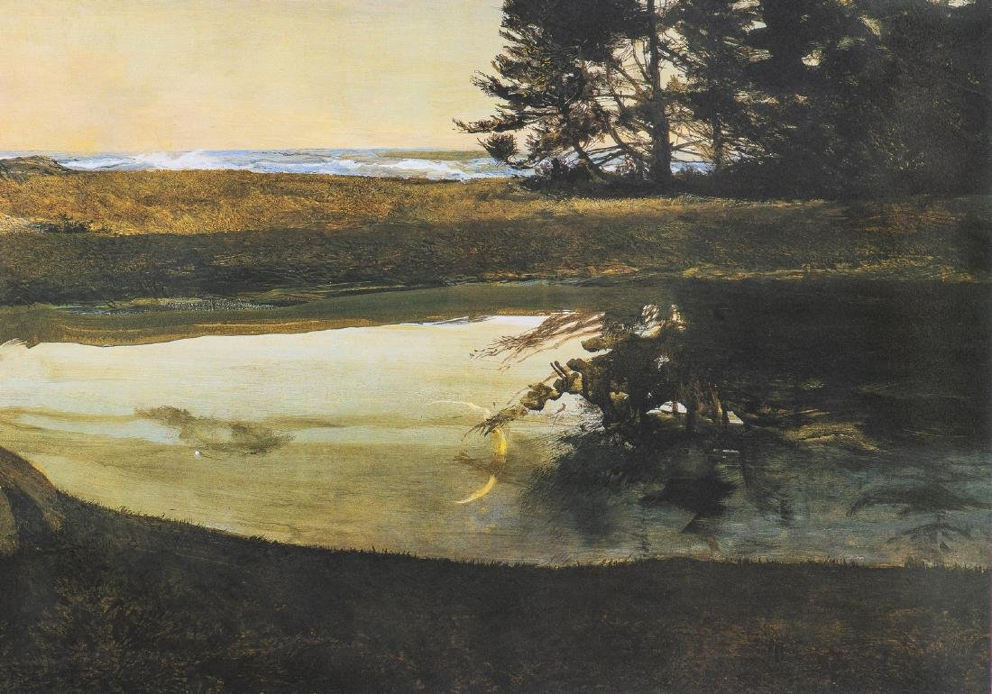Andrew Wyeth Signed Print, Jupiter - 7