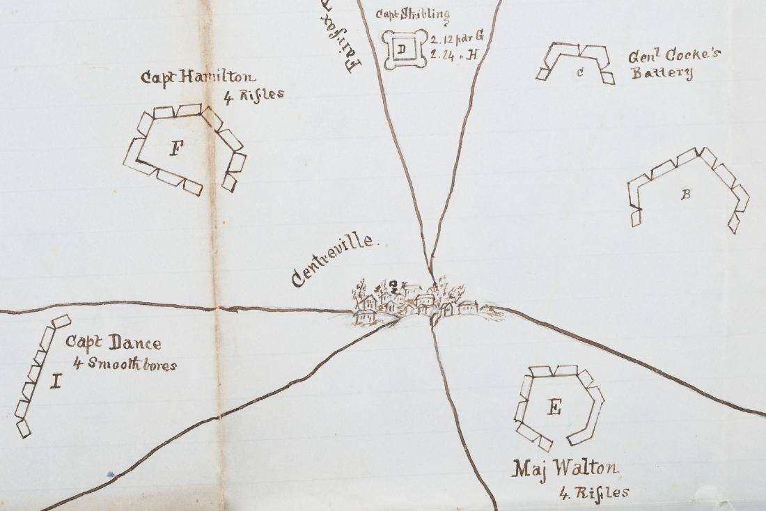 Civil War CSA Pre Battle of Bull Run Artillery Position - 2