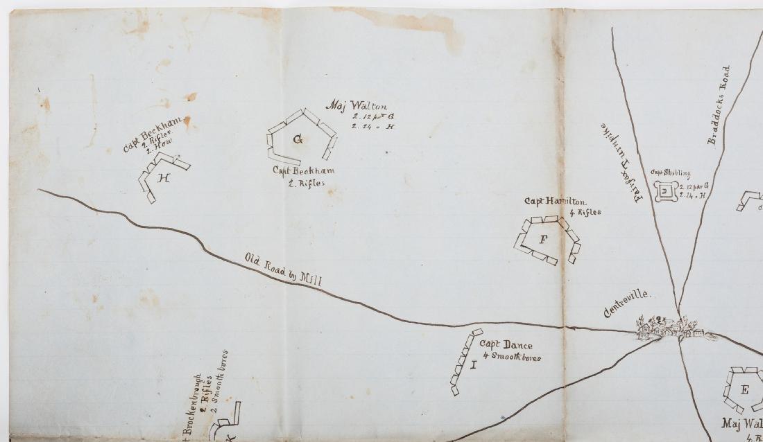 Civil War CSA Pre Battle of Bull Run Artillery Position - 6