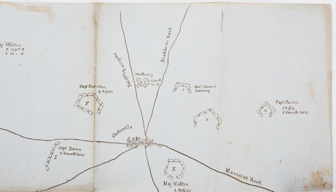 Civil War CSA Pre Battle of Bull Run Artillery Position - 7