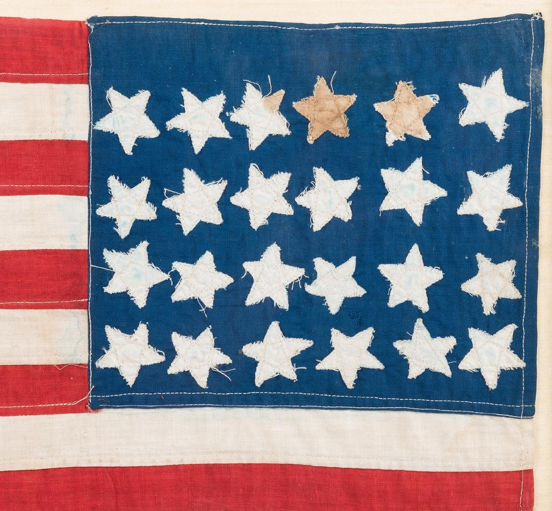 24-star flag plus Lincoln items - 3