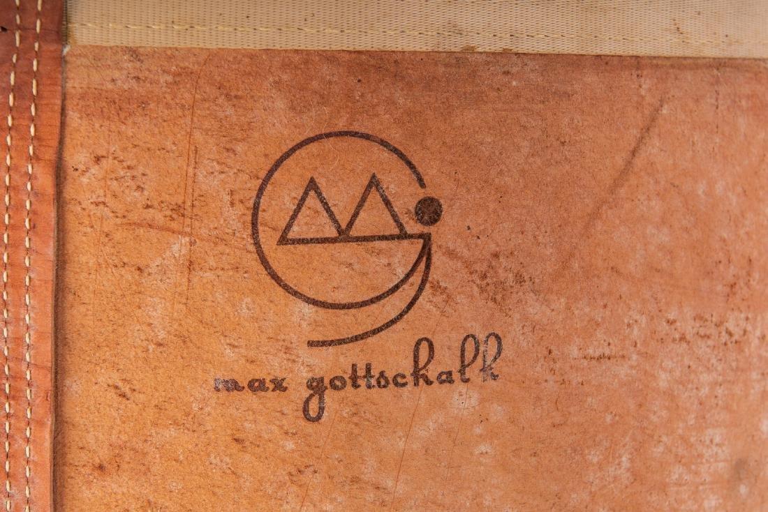 Pair Max Gottschalk Mid Century Bar stools - 10