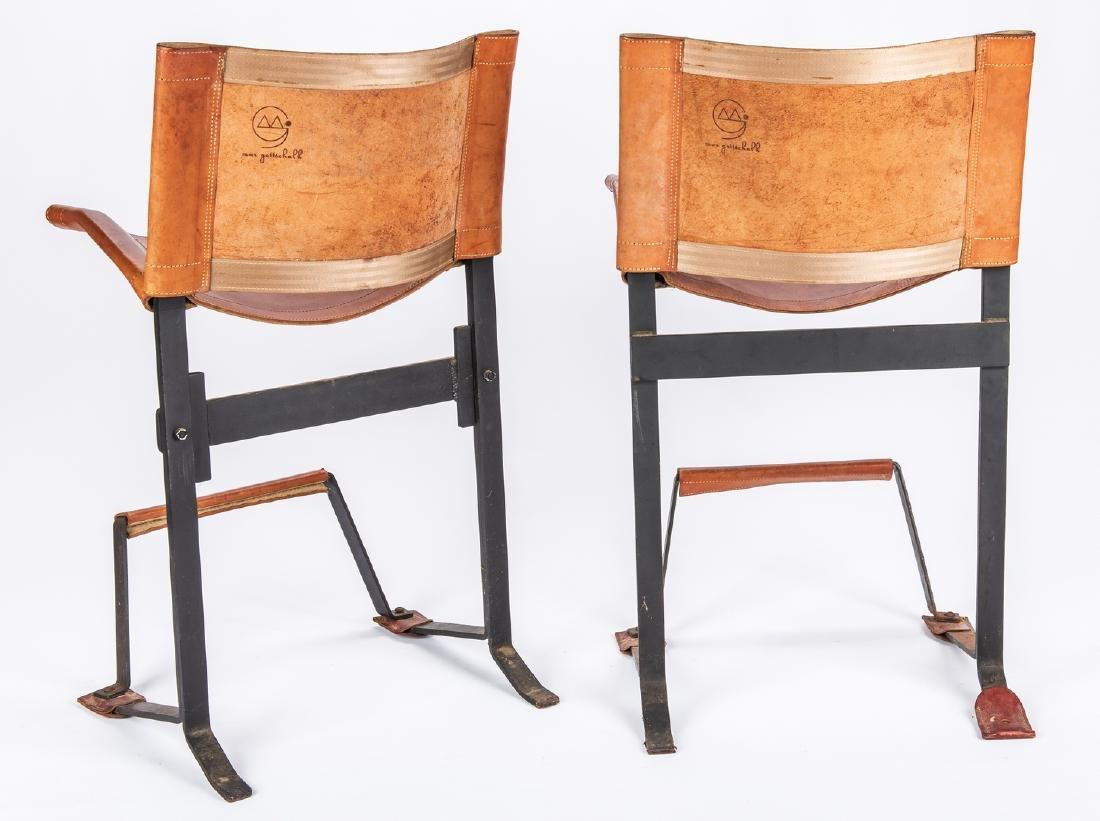Pair Max Gottschalk Mid Century Bar stools - 2