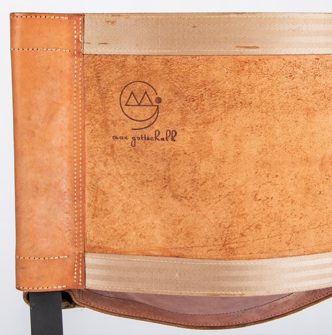 Pair Max Gottschalk Mid Century Bar stools - 5