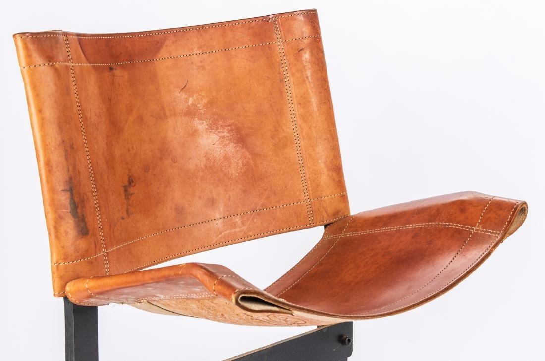 Pair Max Gottschalk Mid Century Bar stools - 6