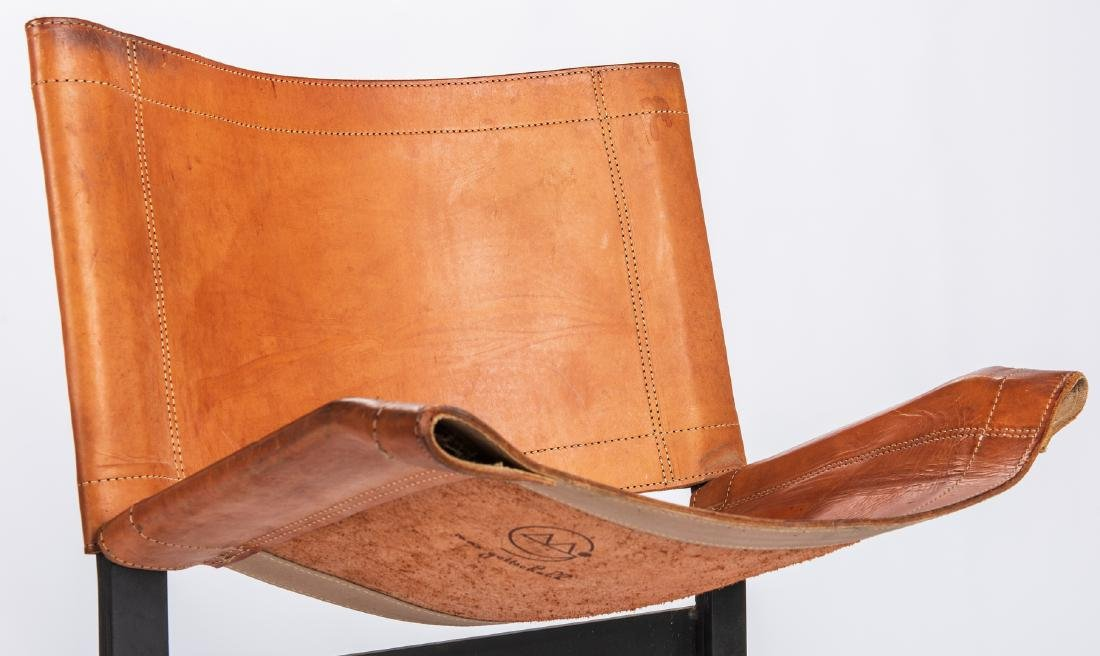 Pair Max Gottschalk Mid Century Bar stools - 7