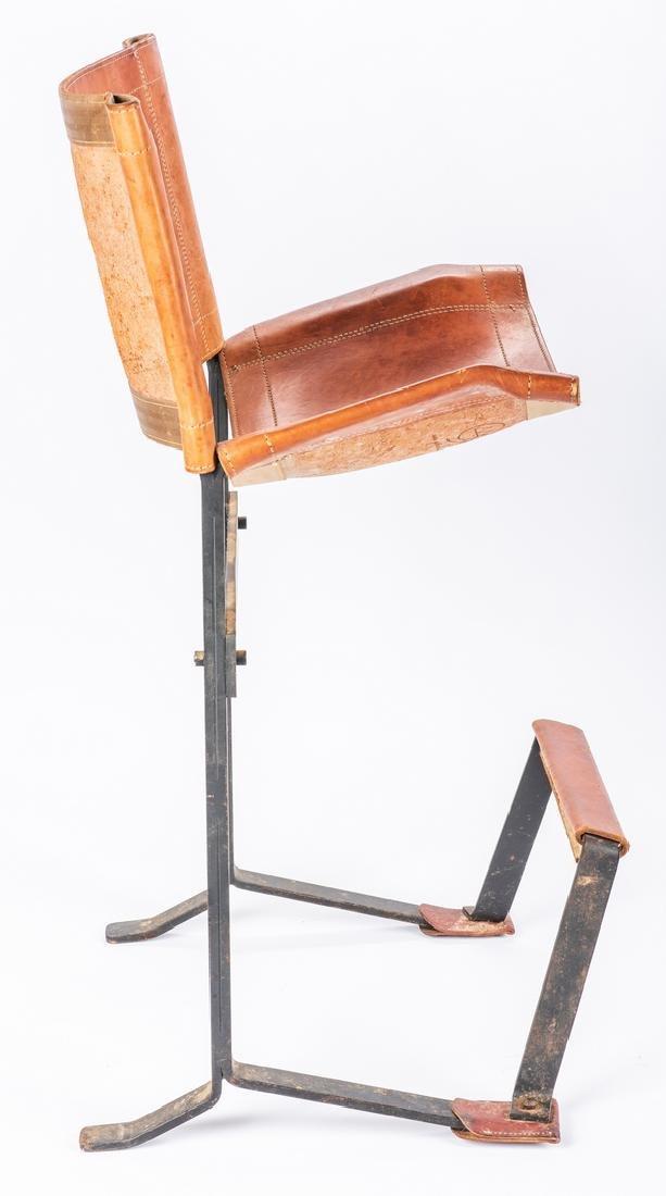 Pair Max Gottschalk Mid Century Bar stools - 8
