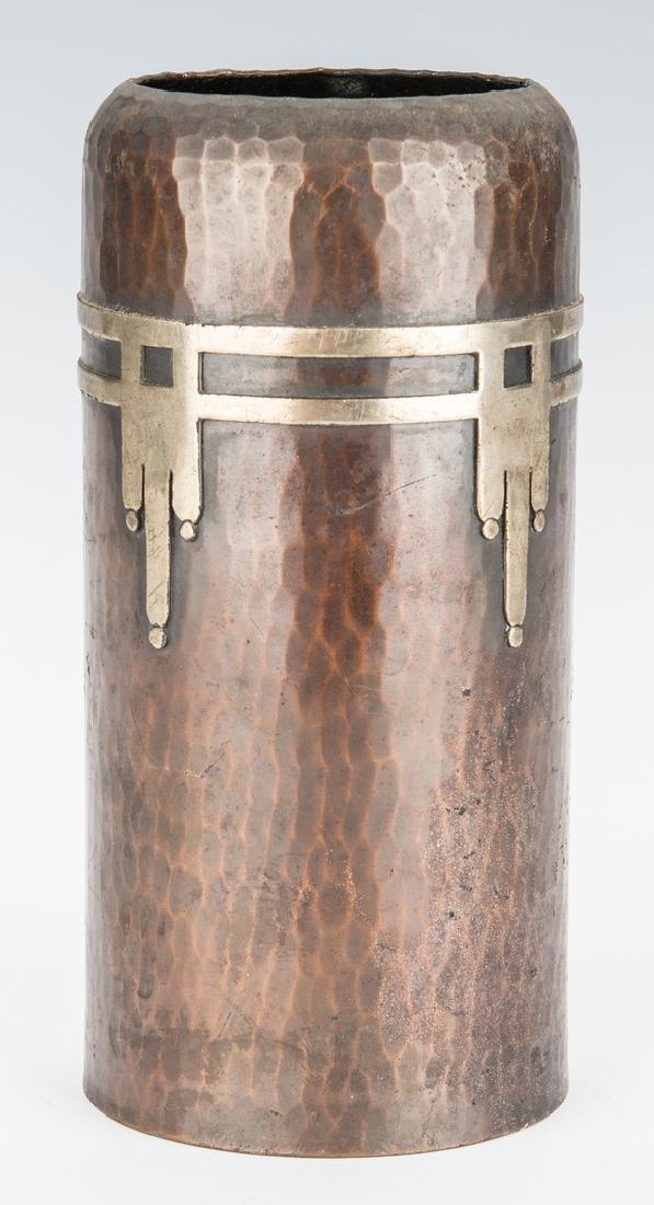 Roycroft Arts & Crafts Bronze vase - 2
