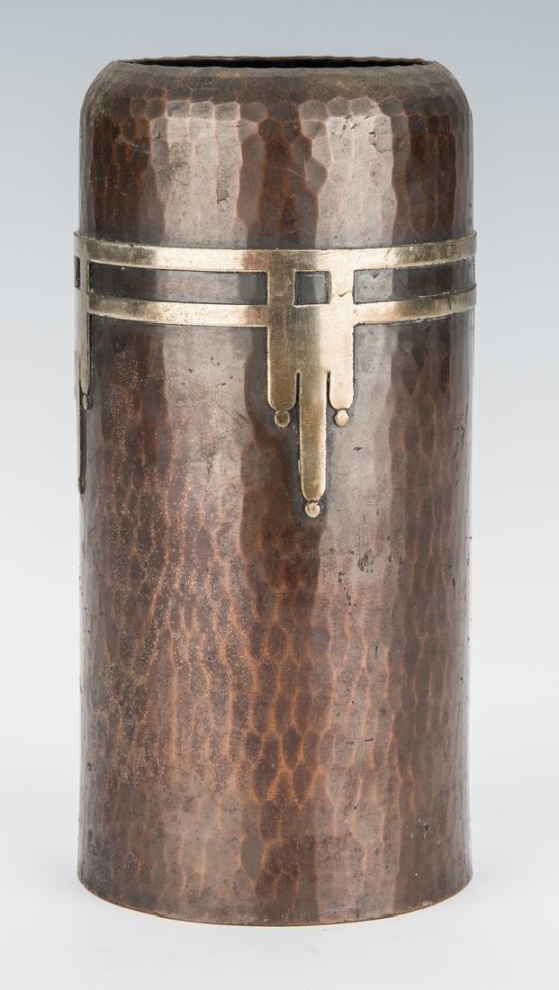 Roycroft Arts & Crafts Bronze vase - 4