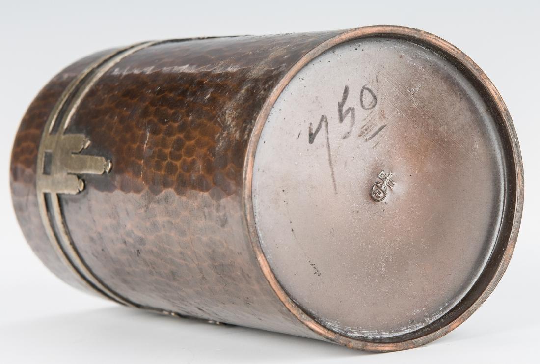 Roycroft Arts & Crafts Bronze vase - 9