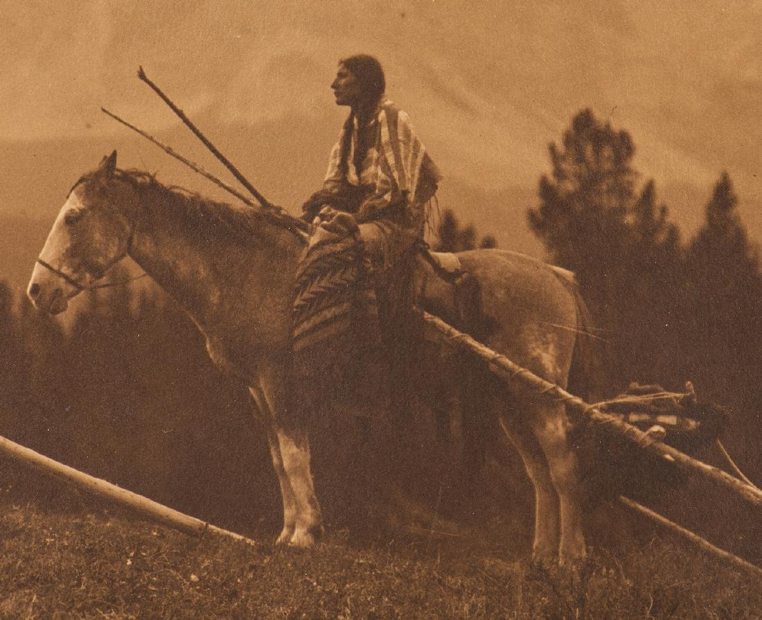 Roland Reed Indian photograph, Waiting for the Hunters - 10