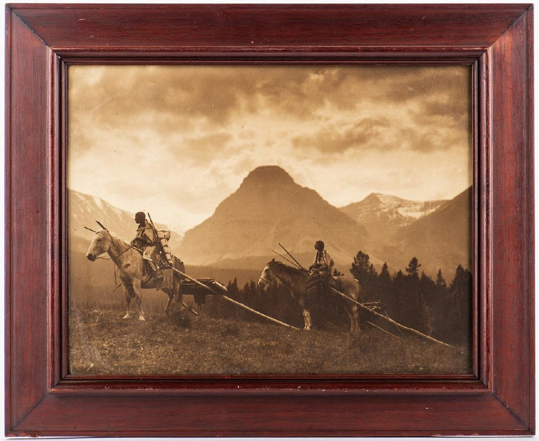 Roland Reed Indian photograph, Waiting for the Hunters - 2