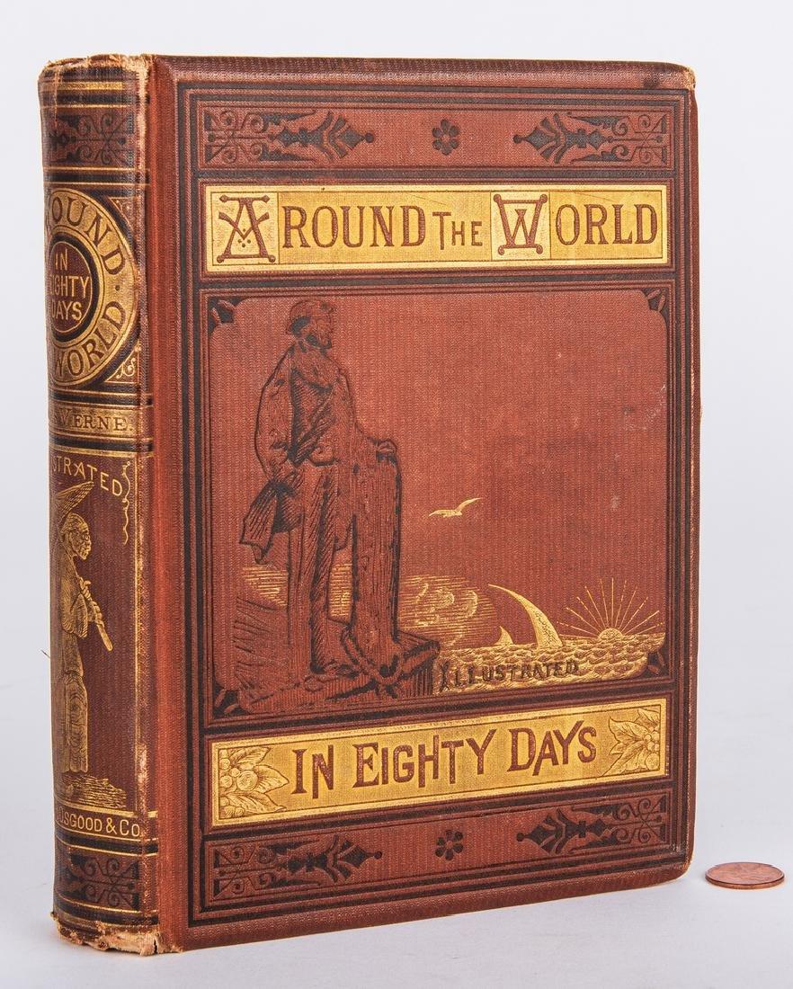 J. Verne, Around the World in Eighty Days, 1st ed.,