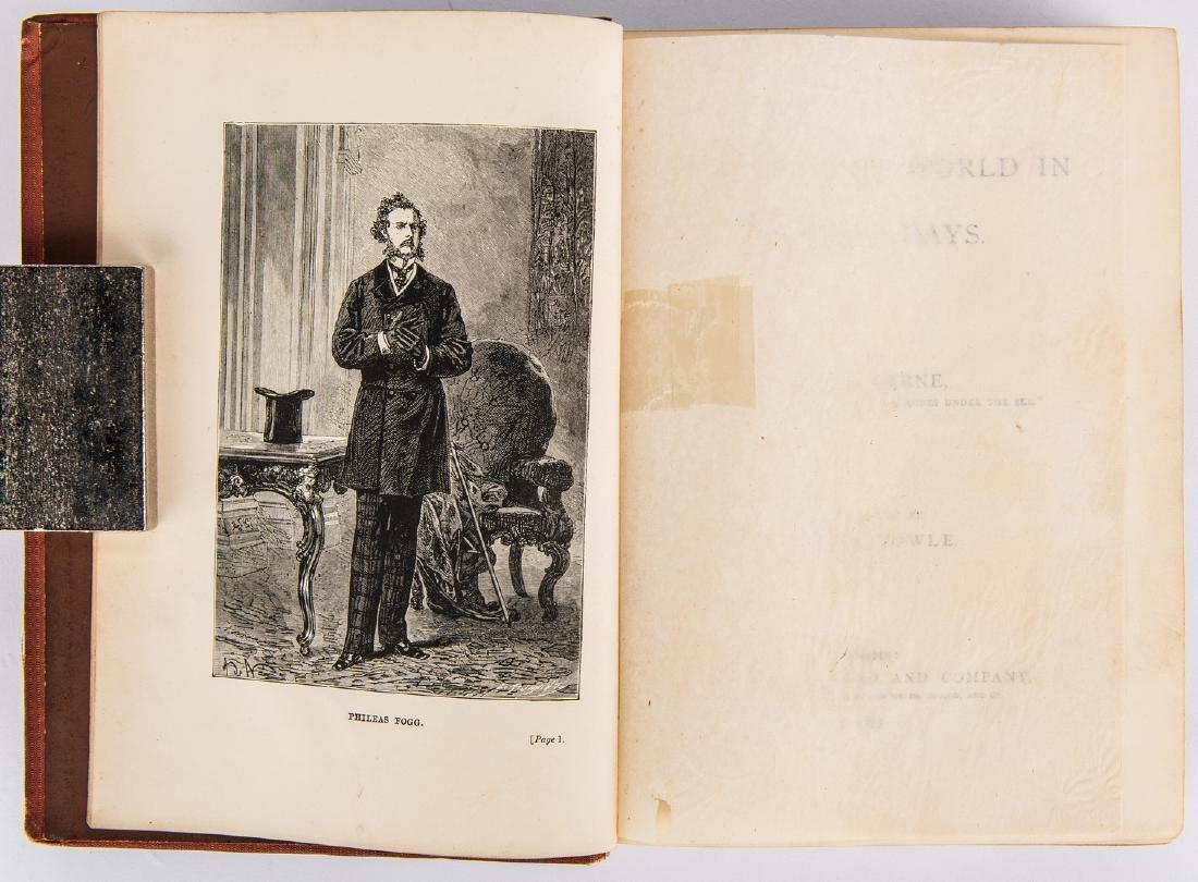 J. Verne, Around the World in Eighty Days, 1st ed., - 5