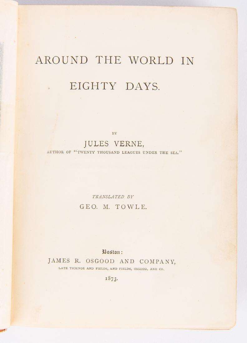 J. Verne, Around the World in Eighty Days, 1st ed., - 6
