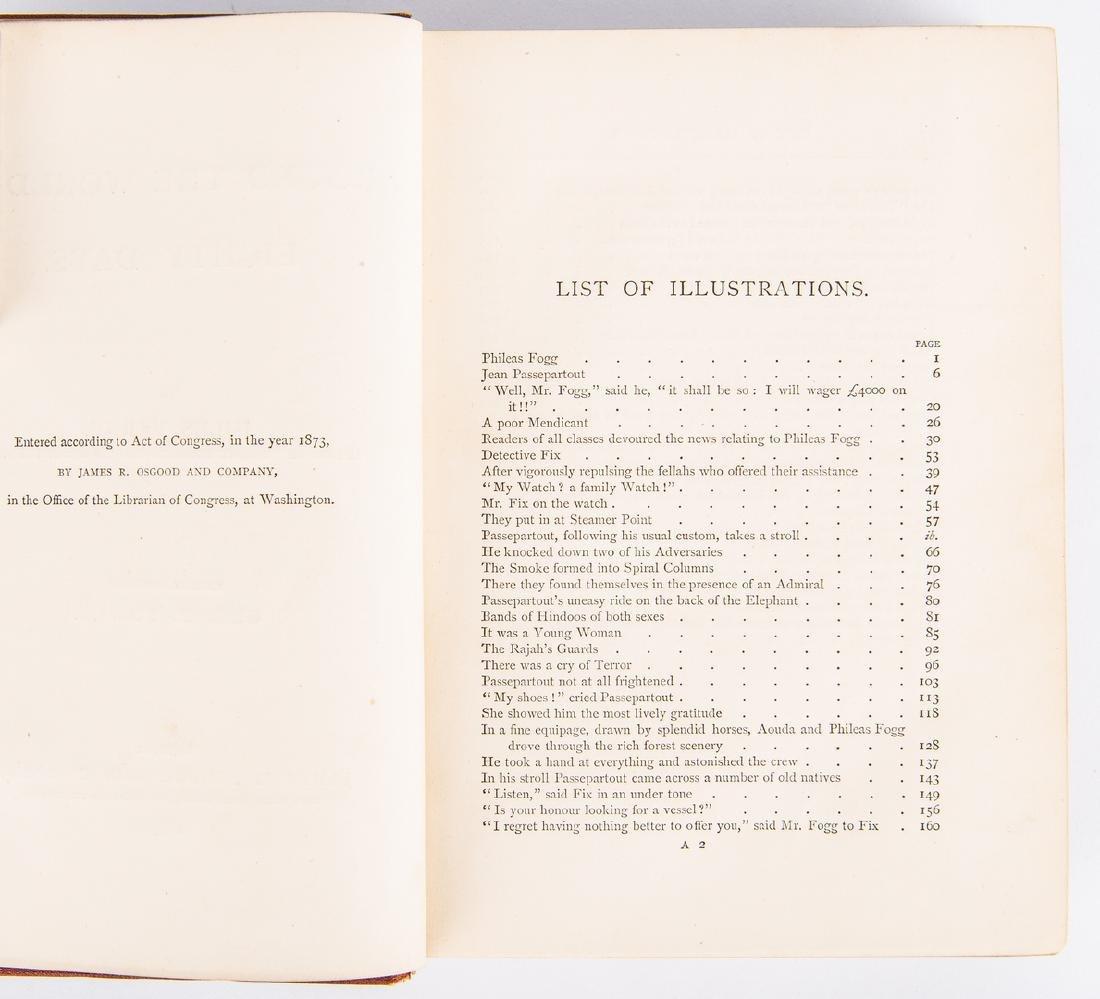 J. Verne, Around the World in Eighty Days, 1st ed., - 7